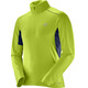 Salomon Agile Warm HZ Midlayer Men Acid Lime/Dress Blue